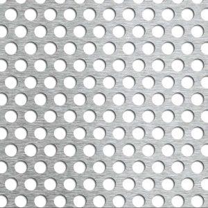 Tablă din aluminiu perforată cu găuri rotunde