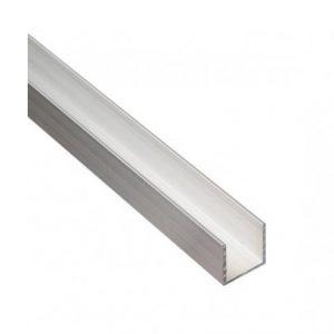 Profil din aluminiu U